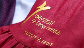 Faculté de droit de Cergy-Pontoise classée 3e des meilleures facs de droit ! - L'Etudiant (15 mai 2018)