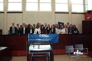 ELSA Cergy Moot Court Competition (ECMCC) : une première édition du 'Moot Court Competition' réussie pour l'association ELSA Cergy !